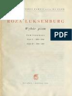 Róża Luksemburg - Strajk masowy, partia i związki zawodowe .pdf