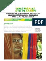 Mujeres Rurales Agentes del Cambio