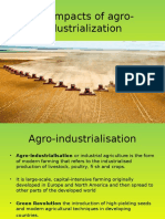 Agro Industrialization
