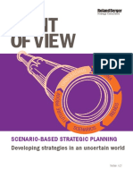 Roland Berger Point of View Scenario Based Strategic Planning 1