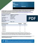 bilingual supplemental score report