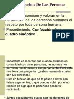 Derechos de Las Personas.