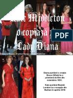 Kate Middleton o Copiaza Pe Lady Diana