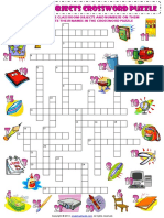 classroom objects esl vocabulary crossword puzzle worksheet for kids.pdf