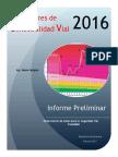 Indicadores Catastróficos 2016. RD 2016