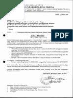 Daftar Standar, Pedoman & Manual Bidang Bina Marga Edisi Januari 2009 (B1-06-SE SPM).pdf
