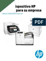 Catalogo Impresoras y MFPs HP [10-2016]