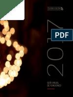 Guía Anual de Funciones Teatro Colón - Temporada 2017