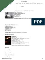 DVD - Rogerio Skylab