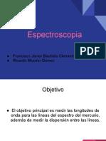Presentación práctica de Espectroscopía