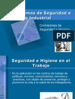 Comisiones de Seguridad e Higiene Industrial