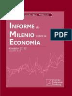 Informe de Milenio Sobre La Economía_ Gestión 2012_ No. 34
