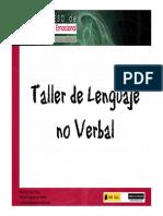 Taller Lenguaje No Verbal