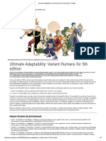 Ultimate Adaptability_ Variant Humans for 5th Edition _ Tribality