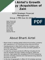 Airtel Acquisition of Zain