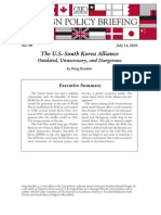 The U.S.-South Korea Alliance