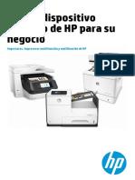 Catalogo Impresoras y MFPs HP [08-2016]