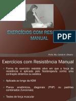 Exercício Resistido Manual