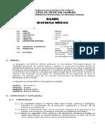 Silabo Biofisica UNDAC 2015