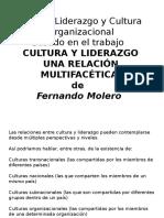 7 - Valores Liderazgo y Cultura Organizacional