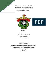 RMK METOD Chapter 5 Dan 6_Nur Amanda Sari (A31114006)