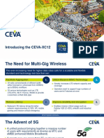 CEVA XC12 Product Brief