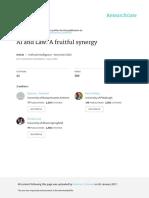 AI and Law a Fruitful Synergy