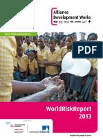 2013 World Risk Report