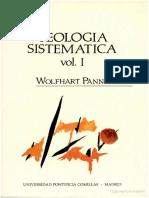 Wolfhart Pannenberg - Teologia Sistemática - Volume 1