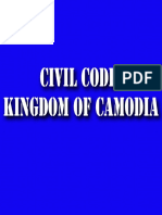 The Civil Code of the Kingdom of Cambodia