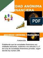 Sociedad Anónima Financiera