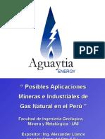 GAS EN EL PERU