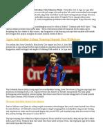 Ateltico Madrid Akan Coba Menawar Messi