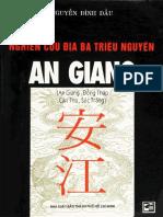 Địa Chí An Giang - Nguyễn Đình Đầu