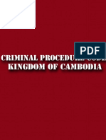 Criminal Procedure Code of Kingdom of Cambodia