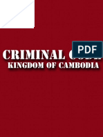 Criminal Code of the Kingdom of Cambodia