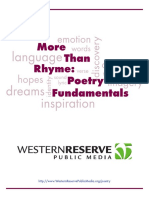 More Than Rhyme Poetry Fundamentals Teacher Guide