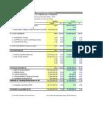 Estructura Balance y Estado de Resultados
