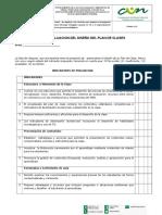 Evaluación Del Plan de Clases