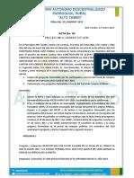Acta Aclaracion Preguntas y Respuestas Alto Tambo
