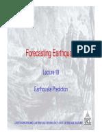 18 Earthquake Prediction