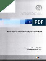 Reporte Final 211 16 Subsecretaría de Pesca y Acuicultura Cumplimiento de Las Funciones Que Encomienda La Normativa