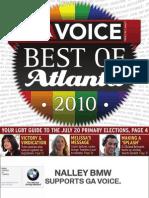The Georgia Voice - 7/9/10 Vol. 1, Issue 9