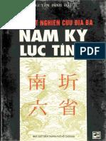 Địa Bạ Nam Kỳ Lục Tỉnh - Nguyễn Đình Đầu