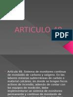 Articulo 48