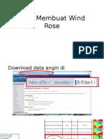 Cara Membuat Wind Rose Dengan WRPlot