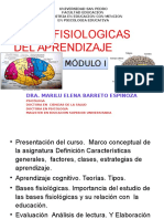Bases Fisiologicas Del Aprendizaje Modulo i