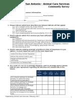 ACS Community Survey