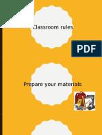 classsroom rules
