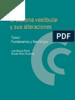 El Sistema Vestibular y Sus Alteraciones Tomo I